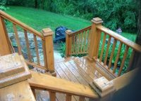 Deck by Michigan Contractor Woodcraft Design & Build