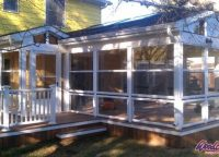 Screened Room by Michigan Contractor Woodcraft Design & Build