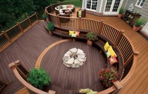 trex curved deck