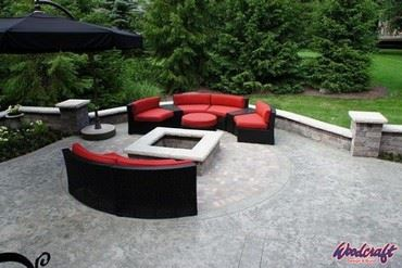 Firestone Pit and Stone Patio